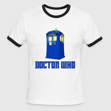 Doctor Who Dr. - Men's Ringer T-Shirt