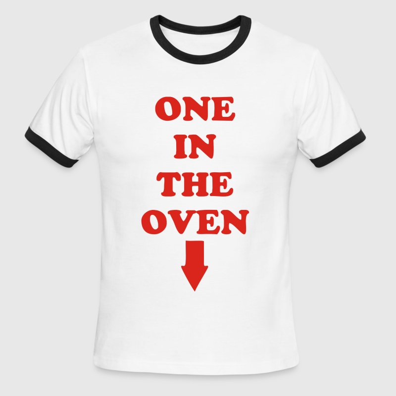 Carey Mahoney - One in the oven - Men's Ringer T-Shirt