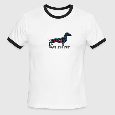 Pet Pets Save save the pet apparel - Men's Ringer T-Shirt