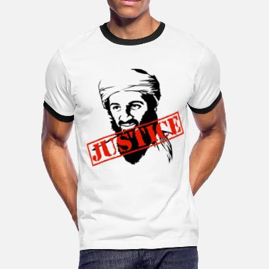 Killed Afghanistan Osama Bin Laden Justice - Men's Ringer T-Shirt