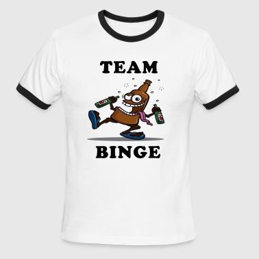 Team Binger - Men's Ringer T-Shirt