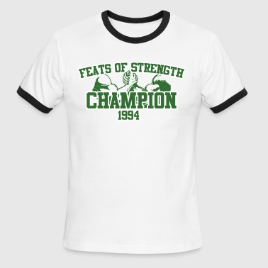 Feats of Strength  - Men's Ringer T-Shirt