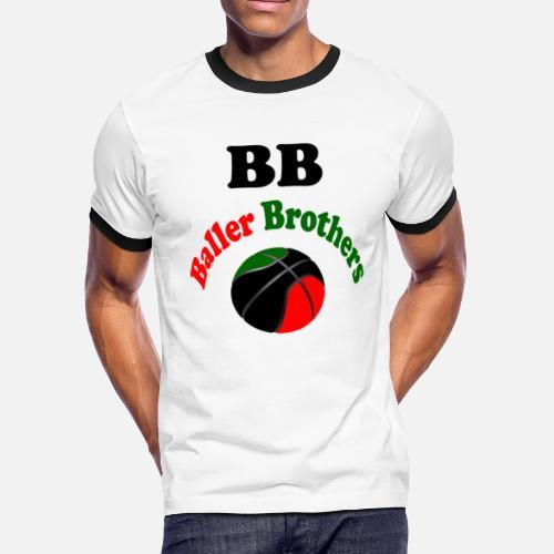 8037b6f61d Men s Ringer T-ShirtBaller Brothers RBG T-shirt. DNrhythm