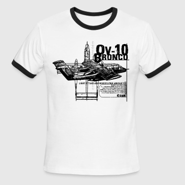 OV-10 Bronco - Men's Ringer T-Shirt
