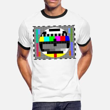 Sheldons TV Test pattern - Men's Ringer T-Shirt