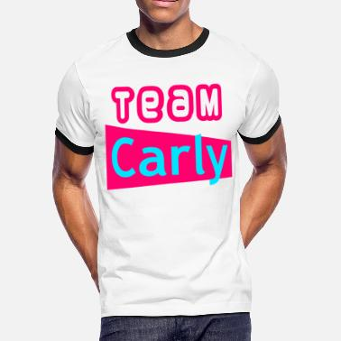 Team Sam Team Carly - Men's Ringer T-Shirt