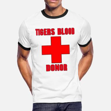 e5f0a281a Cocaine Charlie Tigers Blood Donor Charlie Sheen - Men's Ringer T-