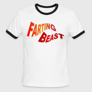 Farting Beast - Men's Ringer T-Shirt