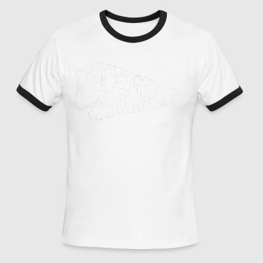 Kc Sports white arrow - Men's Ringer T-Shirt