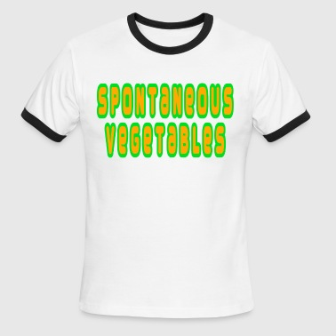 Spontaneous Vegetables - Men's Ringer T-Shirt