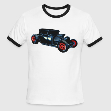 simple hotrod car - Men's Ringer T-Shirt
