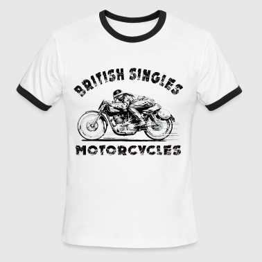 british motorcycles - Men's Ringer T-Shirt