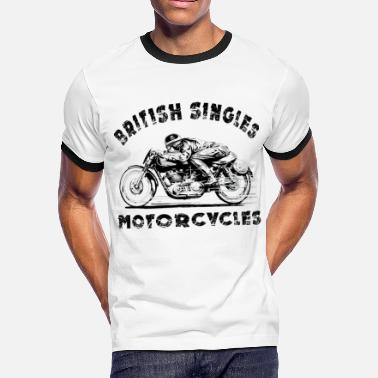 Velocette british motorcycles - Men's Ringer T-Shirt