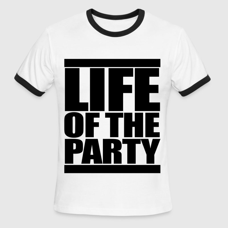 Life of the Party - Men's Ringer T-Shirt