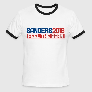 Feel The Bern Bernie Sanders 2016 - Men's Ringer T-Shirt