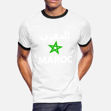 Maghreb Tee shirt Morocco Maroc maghreb - Men's Ringer T-Shirt