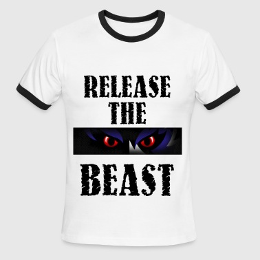 Release the Beast - Men's Ringer T-Shirt