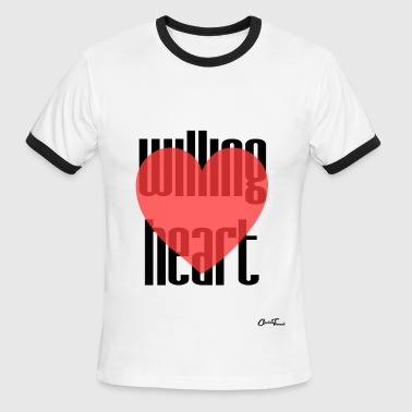 Willing heart - Men's Ringer T-Shirt