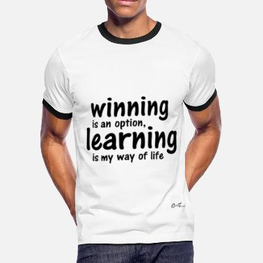 Imagine Office Humor Liner-winning learner - Men's Ringer T-Shirt