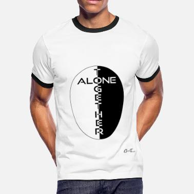 Oxy Oxy-alonetogether-bw - Men's Ringer T-Shirt