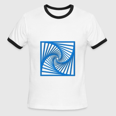 geometry-squares - Men's Ringer T-Shirt