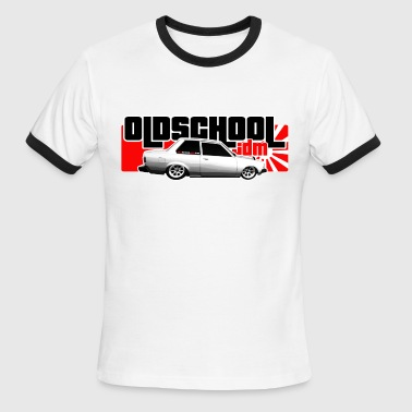 OldSchool JDM 1 - Men's Ringer T-Shirt