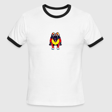 monster dog - Men's Ringer T-Shirt