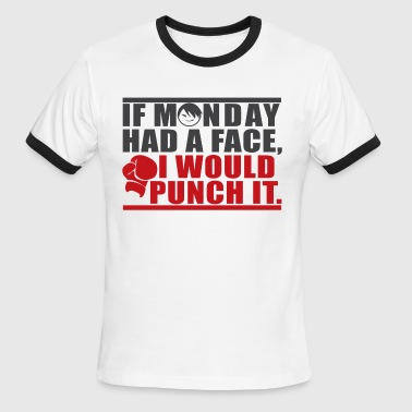 Monday - Men's Ringer T-Shirt