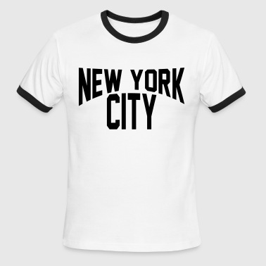 NEW YORK CITY - Men's Ringer T-Shirt