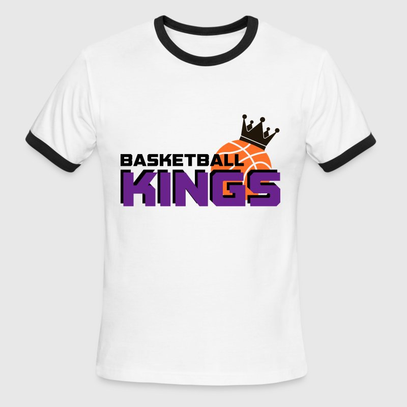 Basketball Kings - Men's Ringer T-Shirt