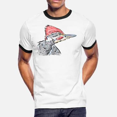 Woodpecker Custom Woodpecker - Men's Ringer T-Shirt