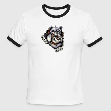 Bull Dog - Men's Ringer T-Shirt