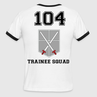 trainee squad - Men's Ringer T-Shirt
