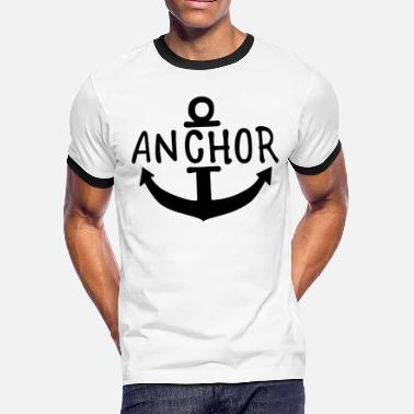 Pirate Anchor Pirate Anchor One Piece - Men's Ringer T-Shirt