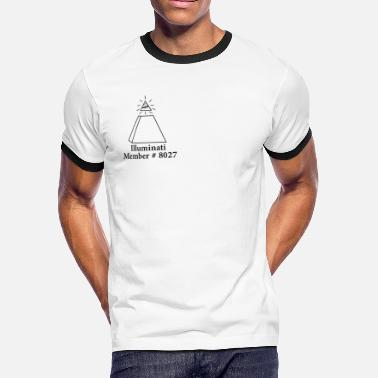 Novus Ordo Seclorum - Illuminati Official Illuminati Member - Men's Ringer T-Shirt