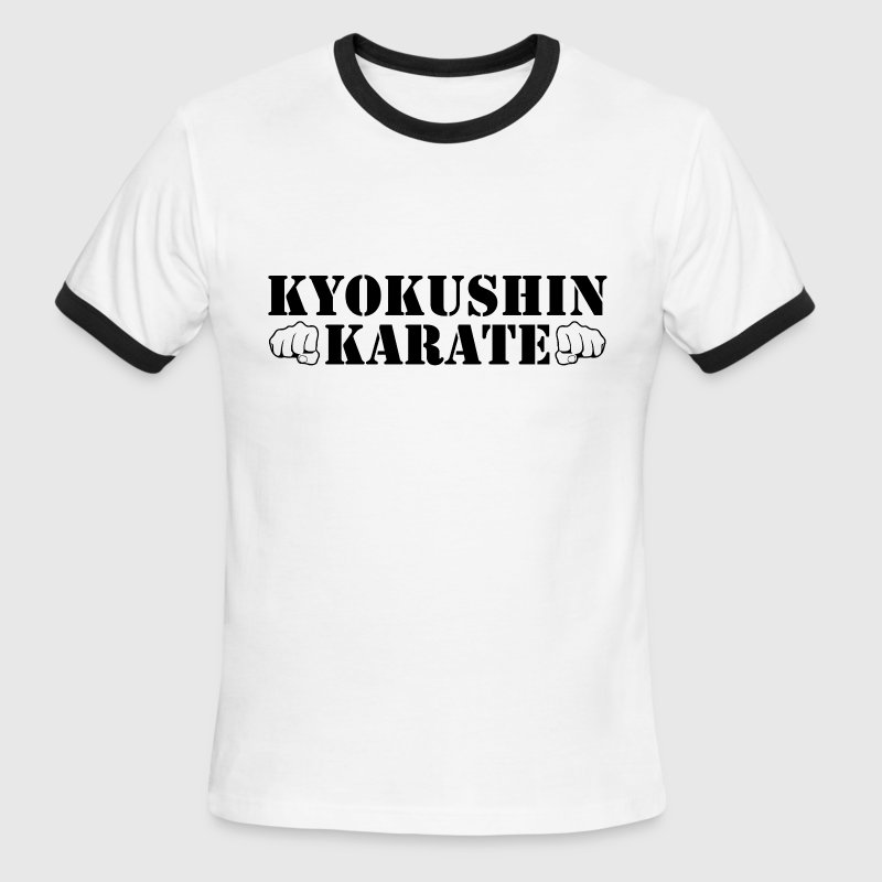 Kyokushin Karate - Men's Ringer T-Shirt