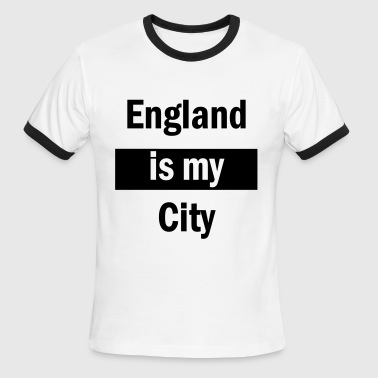 England Cities England Is My City - Men's Ringer T-Shirt