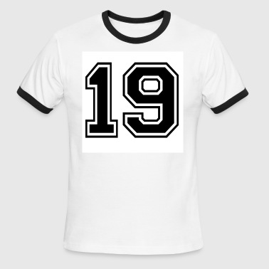 sports number 19 - Men's Ringer T-Shirt