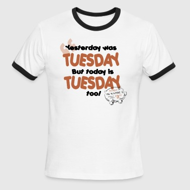 Tuesday - Men's Ringer T-Shirt