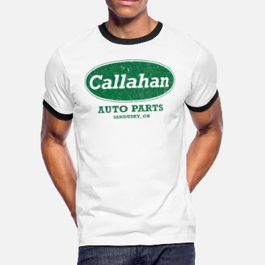 Head Up Ass Vintage Callahan Auto Parts - Men's Ringer T-Shirt