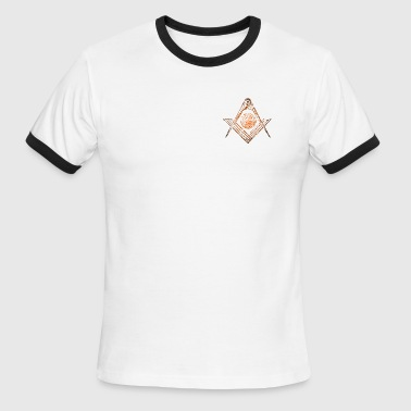 Square & Compasses - Men's Ringer T-Shirt
