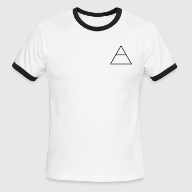 Explore - Pocket Design Tee - Men's Ringer T-Shirt