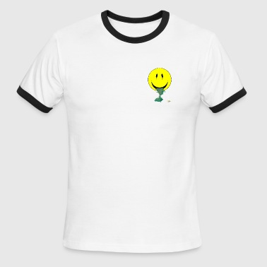 Smiley Barfing - Men's Ringer T-Shirt