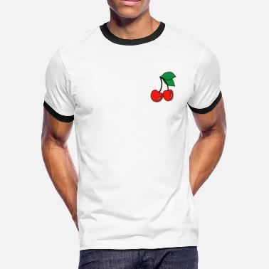 Cherries Cherries - Men's Ringer T-Shirt