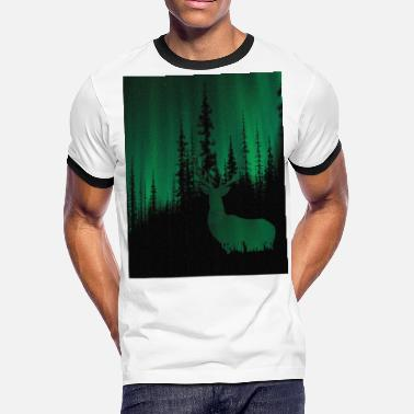 Forest Dree Green - Men's Ringer T-Shirt