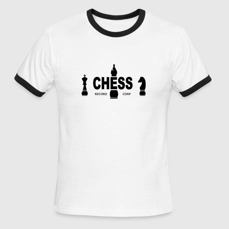 Chess Records Large Buttons (pack of 5) - Men's Ringer T-Shirt
