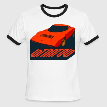 stratos rally - Men's Ringer T-Shirt
