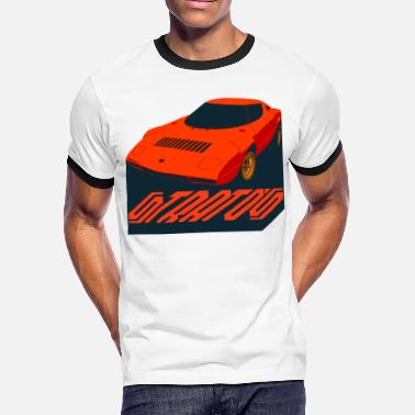 Stratos Lancia stratos rally - Men's Ringer T-Shirt