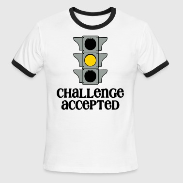 Wicked Cool Clothing Challenge Accepted - Men's Ringer T-Shirt