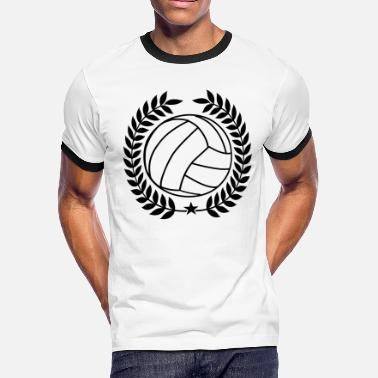 Volleyball Team Cool Vintage Volleyball for Teams - Men's Ringer T-Shirt